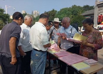 鹰潭市总工会组织普法宣传活动