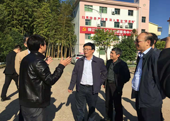 省司法厅督查组来鹰潭市督查司法行政重点工作